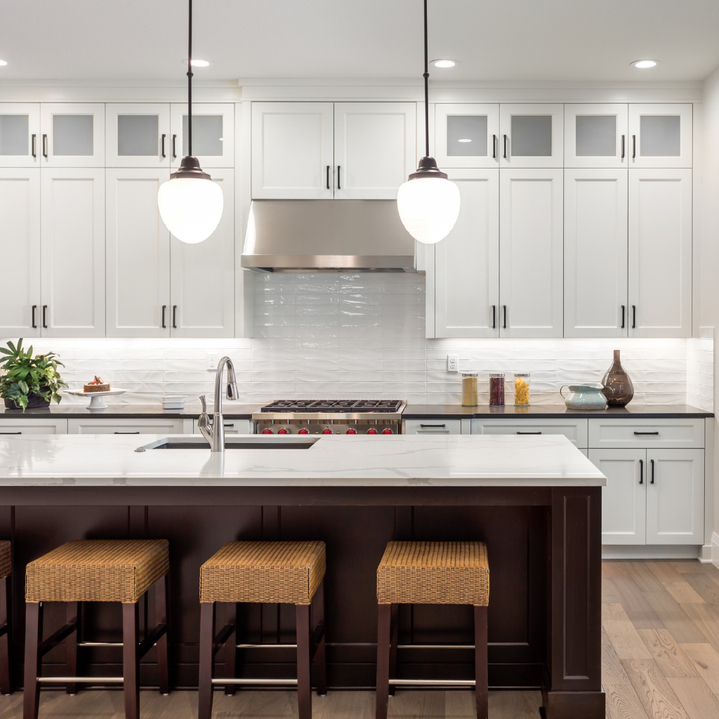 Contemporary Kitchen Renovation in the Hudson Valley NY